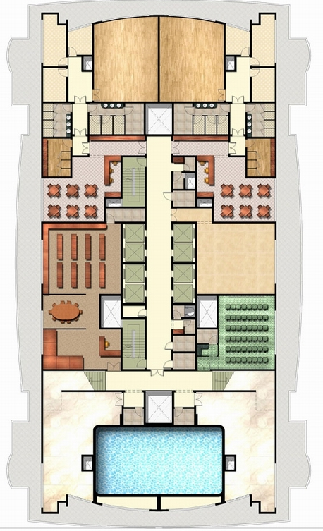 Fitness Club Floor Plan,LaFitness Floor Plan,Fitness Club_点力图库